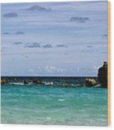 Bermuda Skies Wood Print