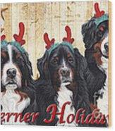 Berner Holiday Wood Print