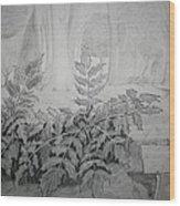 Bernheim Forest Plant Wood Print