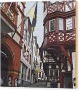 Bernkastel Germany Wood Print