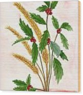 Berry Wood Print