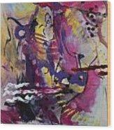 Violet Dawn Wood Print