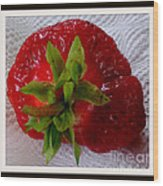 Berry Yummy Wood Print