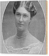 Bertha Krupp  Daughter Of Friedrich Wood Print