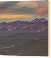 Berthoud Pass Wood Print