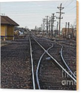 Berthoud R R Station Wood Print
