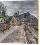 Berwyn Railway Station Wood Print