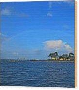 Best Complete Rainbow Over Santa Rosa Sound3 Wood Print