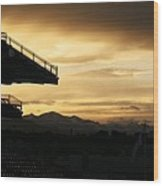 Best View Of All - Rockies Stadium Wood Print
