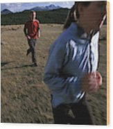 Beth Rodden And Tommy Caldwell Get Wood Print