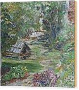 Bethania Garden Wood Print