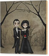 Betrothed Wood Print