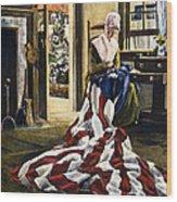 Betsy Ross (1752-1836) Wood Print