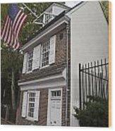 Betsy Ross House Philadelphia Pennsylvania Wood Print