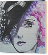 Bette Davis 02 Wood Print
