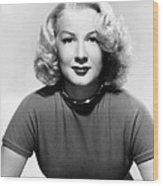 Betty Hutton, 1947 Wood Print