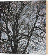 Between Heaven And Earth Expressionism Art Wood Print