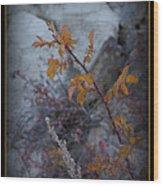 Beware The Thorns Wood Print