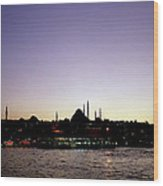 Bewitching Istanbul Wood Print