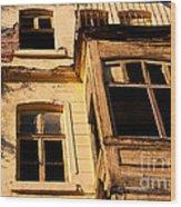 Beyoglu Old House 02 Wood Print