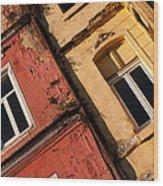 Beyoglu Old Houses 03 Wood Print