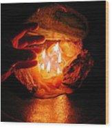 Beyond Light Zen Meditation Connection  Wood Print