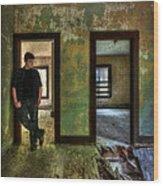 Beyond Regrets Of The Past Wood Print by Evelina Kremsdorf