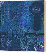 Beyond The Door - Abstract Wood Print