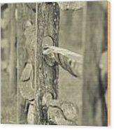 Beyond The Rails Wood Print