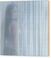 Beyond The Veil Of Light Wood Print