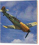 Bf 109 Messerschmitt  Wood Print