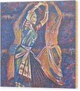 Bharatha Naatayam 3 Wood Print