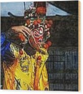 Bian Jiang Dancer Lux Hp Wood Print