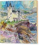 Biarritz 02 Wood Print