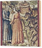 Bibbia Istoriata Padovana. 14th C. - Wood Print