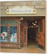 Bibbidi Bobbidi Boutique Fantasyland Disneyland Wood Print
