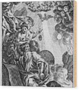 Bible History, 1752 Wood Print