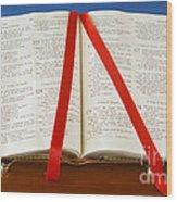 Bible  Wood Print