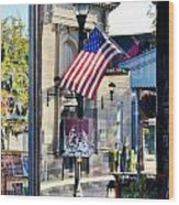 Biblion Used Books Reflections 2 - Lewes Delaware Wood Print