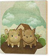 Bichos Wood Print