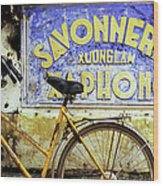 Bicycle 01 Wood Print