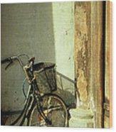 Bicycle 02 Wood Print