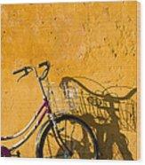 Bicycle 07 Wood Print