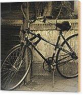 Bicycle Wood Print by Amr Miqdadi