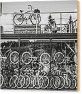 Bicycle Heaven Wood Print