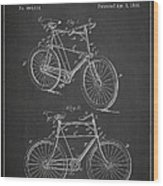 Bicycle Patent Wood Print