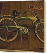 Bicycle Shop Wood Print
