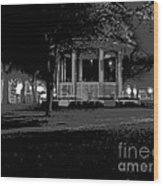 Bienville Square Grandstand Posterized Wood Print