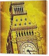 Big Ben 15 Wood Print