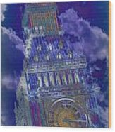 Big Ben 17 Wood Print